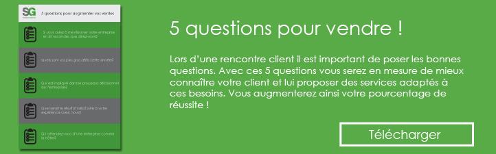 Studio Grafik - 5 questions pour vendre !