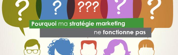 Pourquoi ma stratégie marketing ne fonctionne pas | Studio Grafik