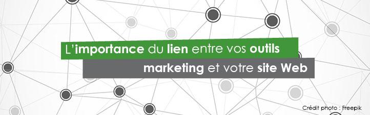 L'importance du lien entre vos outils marketing et votre site Web | Studio Grafik
