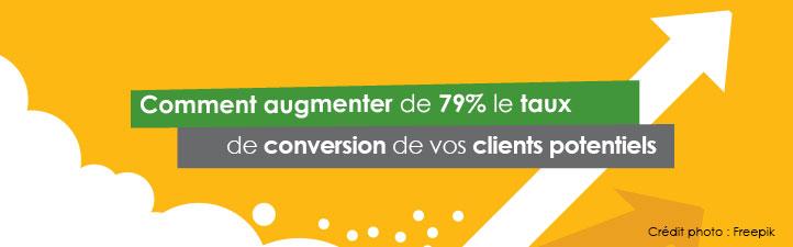 Comment augmenter de 79% le taux de conversion de vos clients potentiels | Studio Grafik