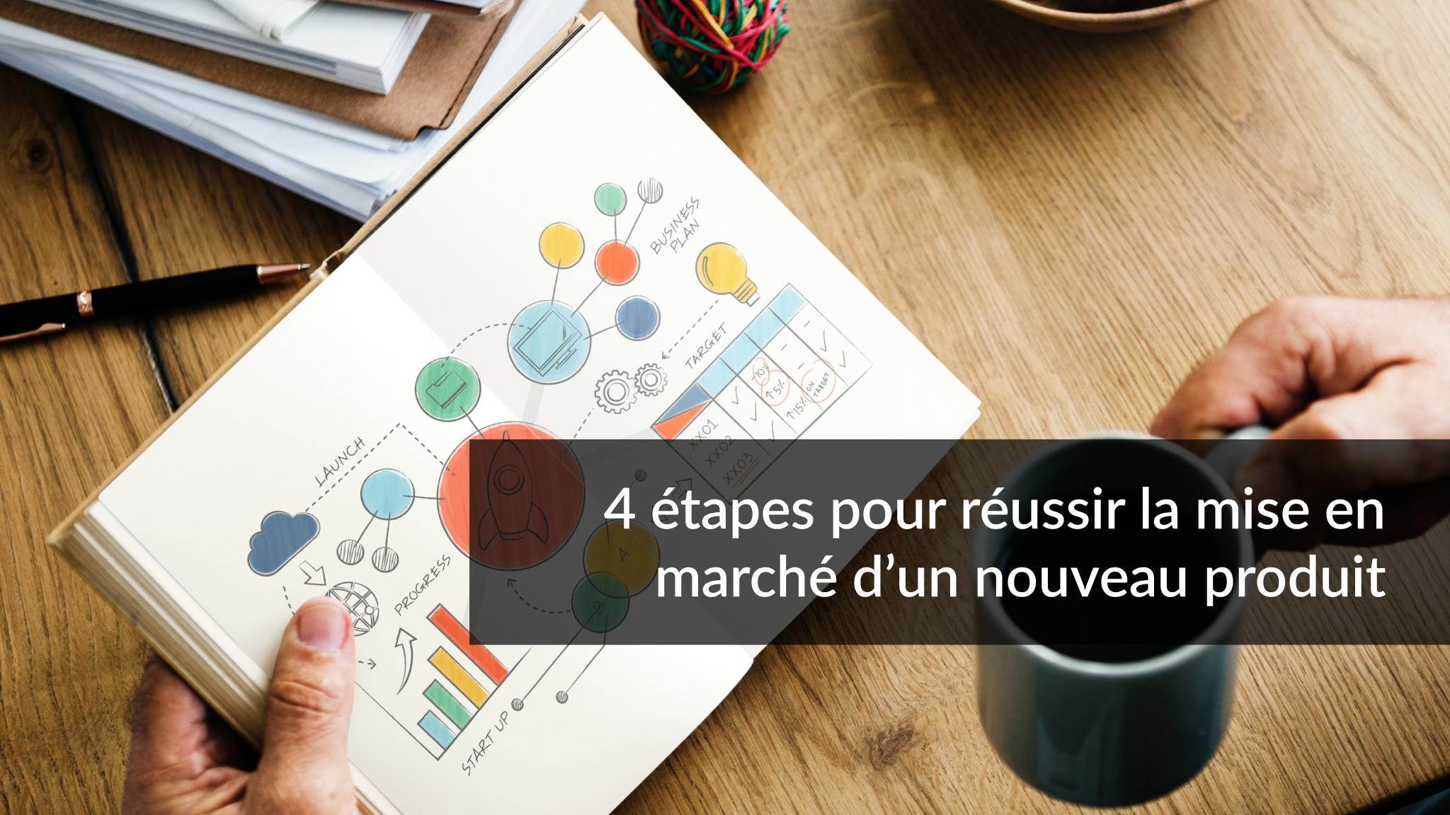 4 étapes pour réussir la mise en marché d'un nouveau produit | Studio Grafik