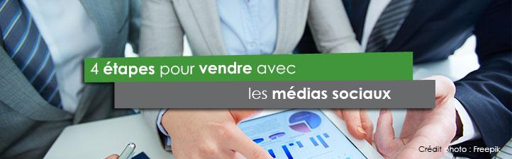 4 étapes pour vendre avec les médias sociaux | Studio Grafik