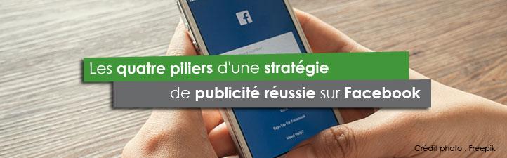 Les quatre piliers d'une stratégie de publicité réussie sur Facebook | Studio Grafik