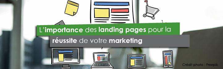 L'importance des landing pages pour la réussite de votre marketing | Studio Grafik