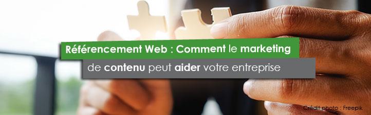 Référencement Web : Comment le marketing de contenu peut aider votre entreprise | Studio Grafik