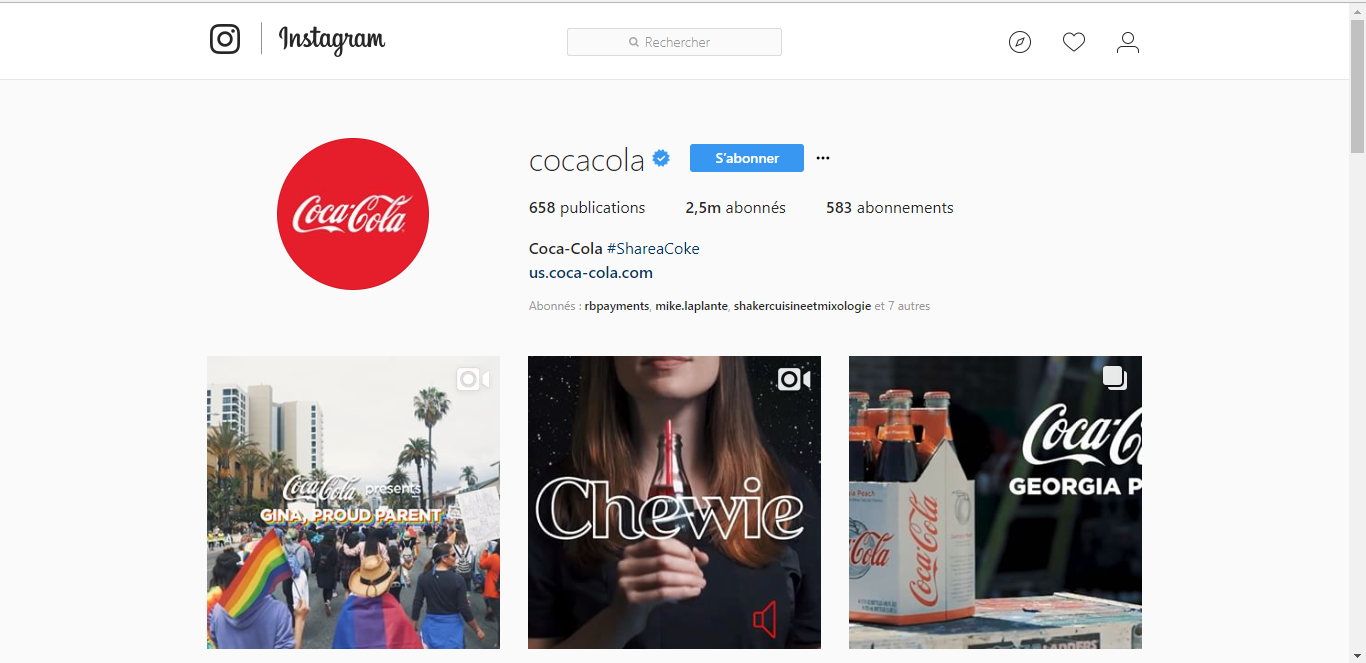 Instagram Coca-Cola | Studio Grafik