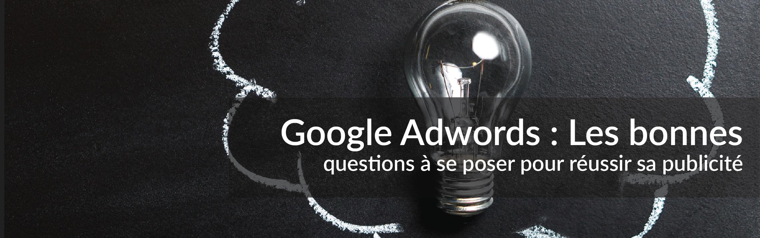 Google Adwords : Les bonnes questions à se poser pour réussir sa publicité | Studio Grafik