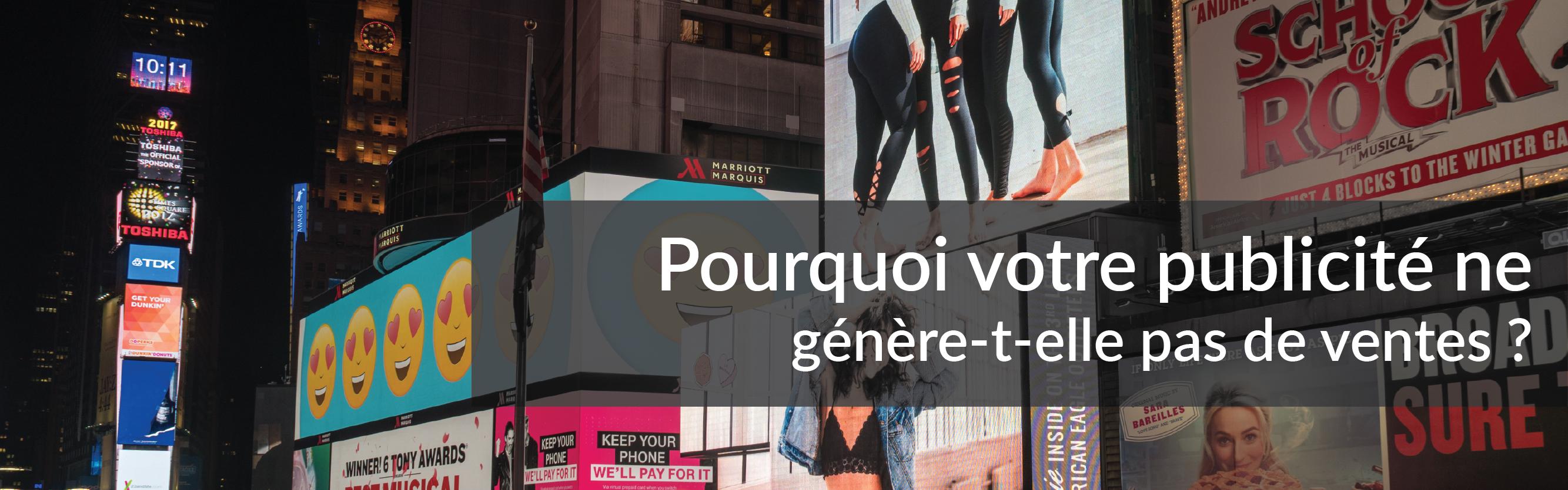 Pourquoi votre publicité ne génère-t-elle pas de ventes ? | Studio Grafik
