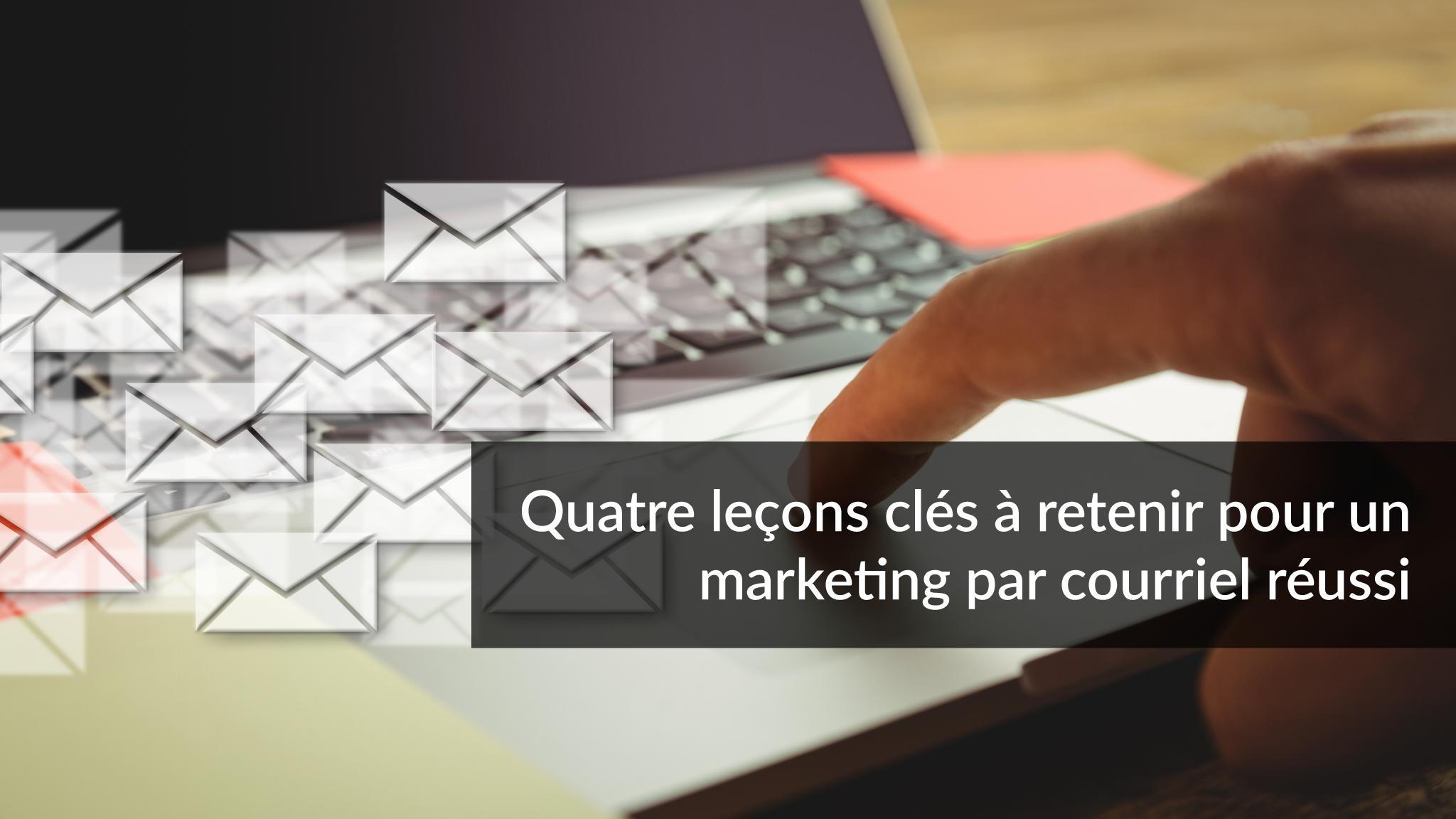 Quatre leçons clés à retenir pour un marketing par courriel réussi | Studio Grafik