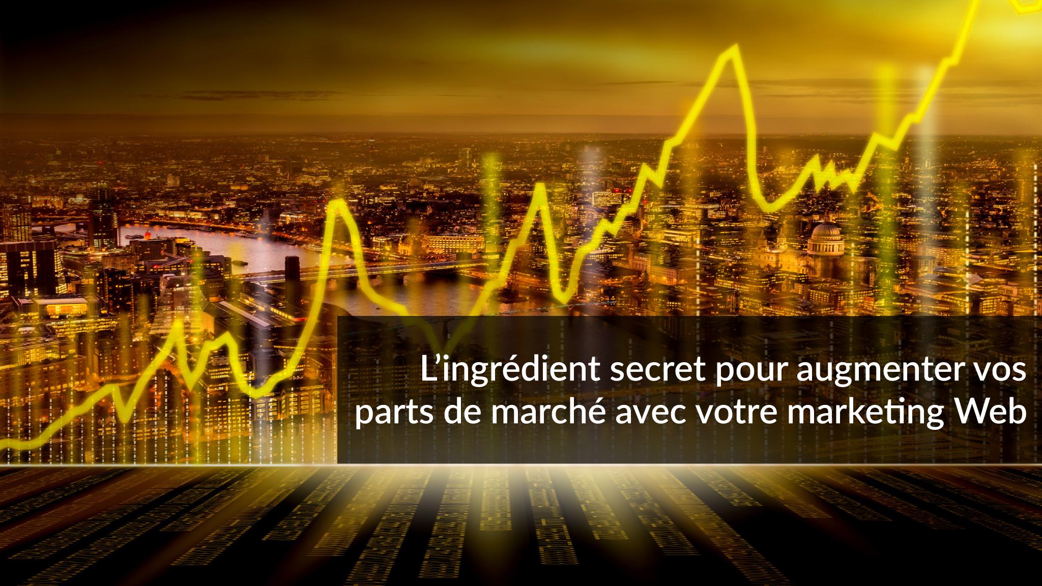 L'ingrédient secret pour augmenter vos parts de marché avec votre marketing Web | Studio Grafik