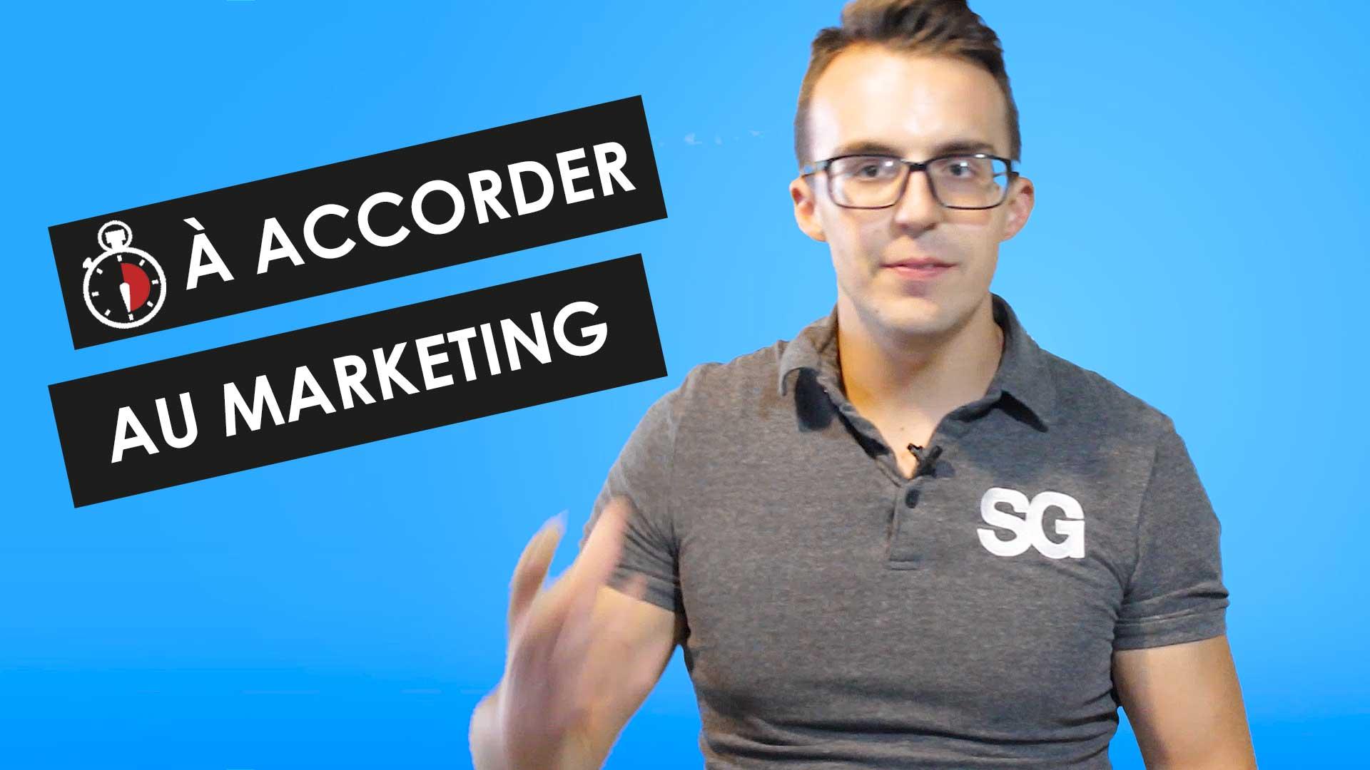 Combien de temps devriez-vous accorder au marketing de votre entreprise | Studio Grafik