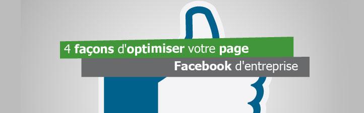 Studio Grafik | 4 façons d'optimiser votre page Facebook d'entreprise