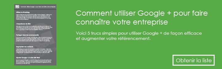 Comment utiliser Google + pour faire connaitre votre entreprise | Studio Grafik