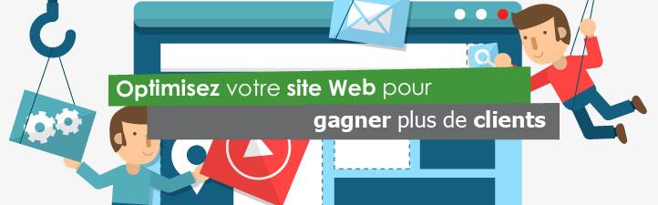 Optimisez votre site Web pour gagner plus de clients  | Studio Grafik