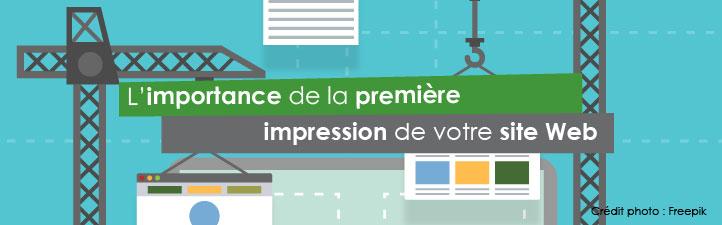L'importance de la première impression de votre site Web | Studio Grafik