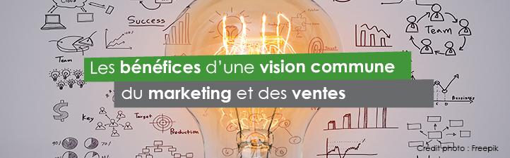 Les bénéfices d'une vision commune du marketing et des ventes | Studio Grafik