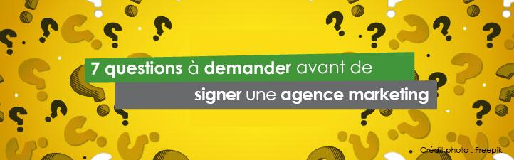 7 questions que vous devriez demander avant de signer une agence marketing | Studio Grafik