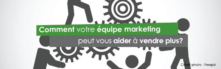 Comment votre équipe marketing peut vous aider à vendre plus? | Studio Grafik
