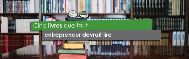 Cinq livres que tout entrepreneur devrait lire | Studio Grafik