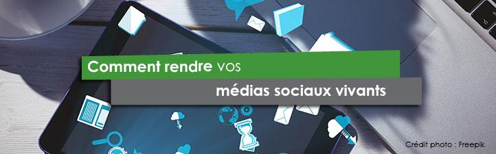 Comment rendre vos médias sociaux vivants | Studio Grafik