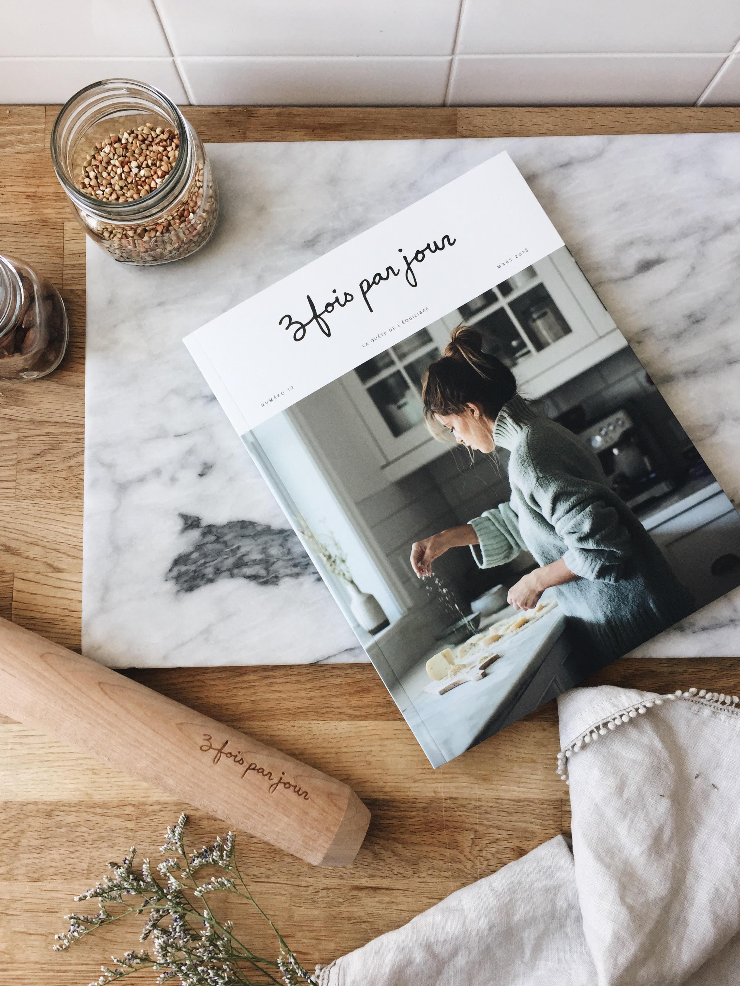 Magazine Trois fois par jour | Studio Grafik