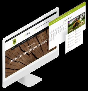 Site Web Services d'arbres de la Sablonnière