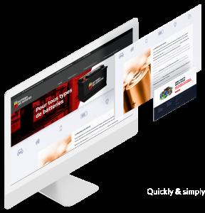 Site Web Batterie des Patriotes