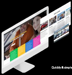 Site Web École de conduite Bouvier