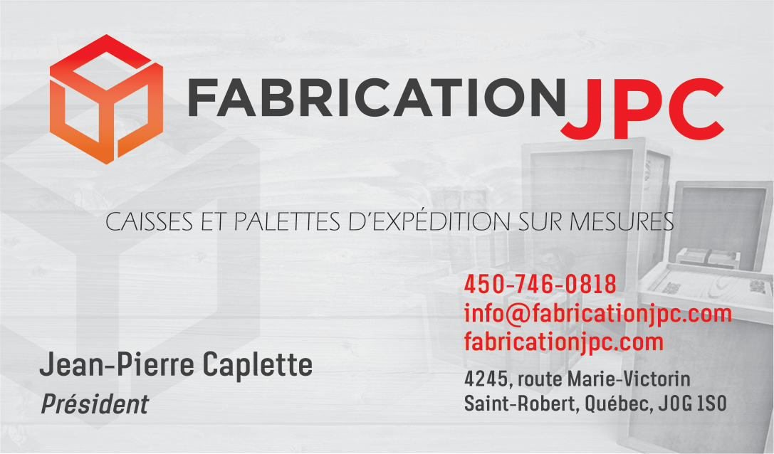 Imprimé Fabrication JPC